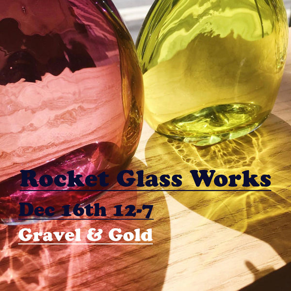 Rocket Glass Works Holiday Sale