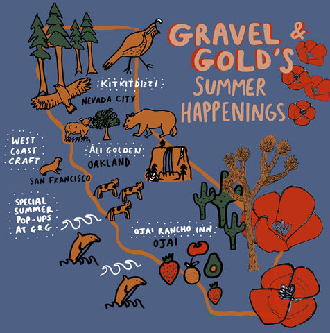 Gravel & Gold's Summer Happenings