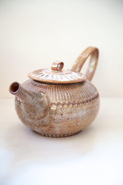 Carved Tea Pot - zoe dering