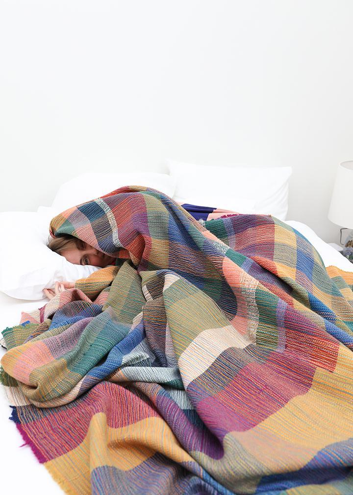 Large Handwoven Blanket #1 - Travis Meinolf