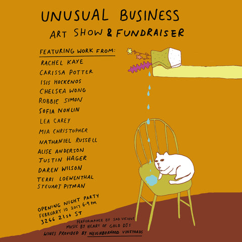 Unusual Business - An Art Show & Fundraiser