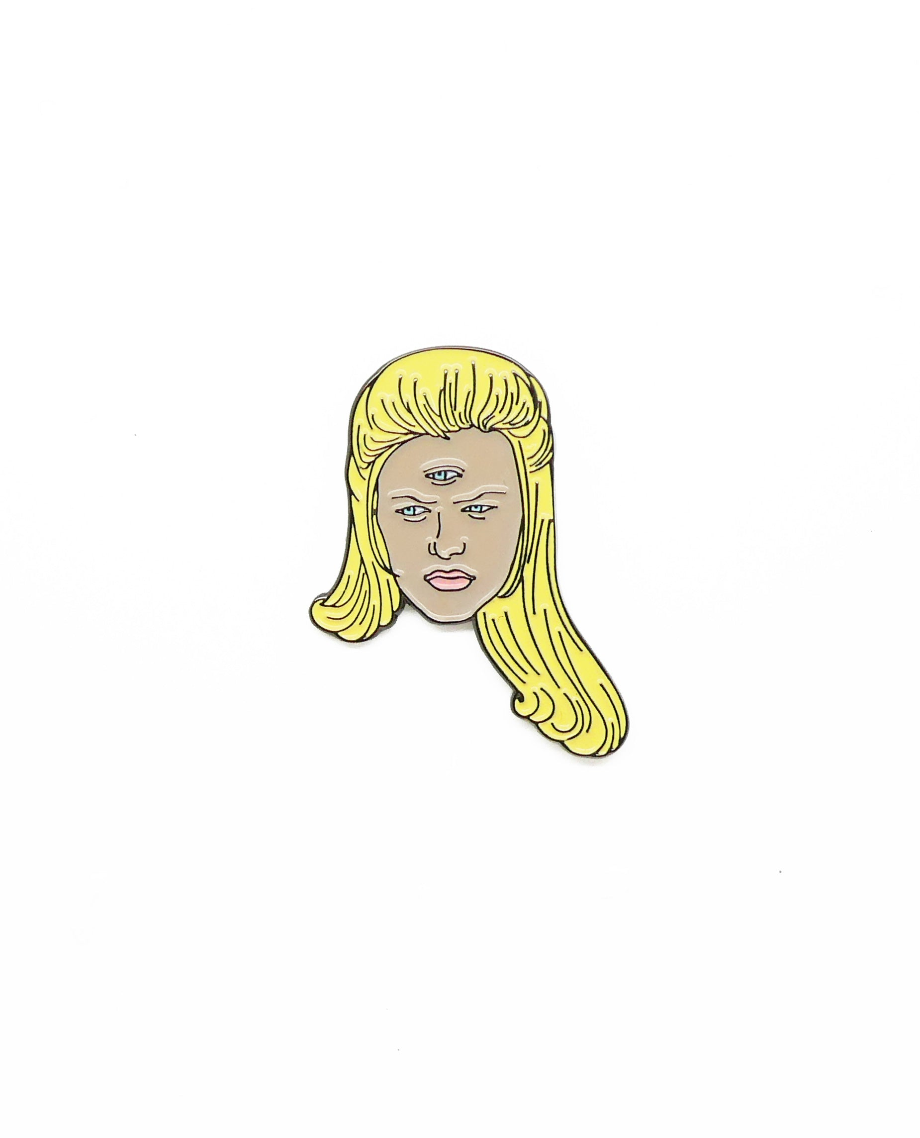 Cher from Clueless with 3rd Eye Pin Brooch