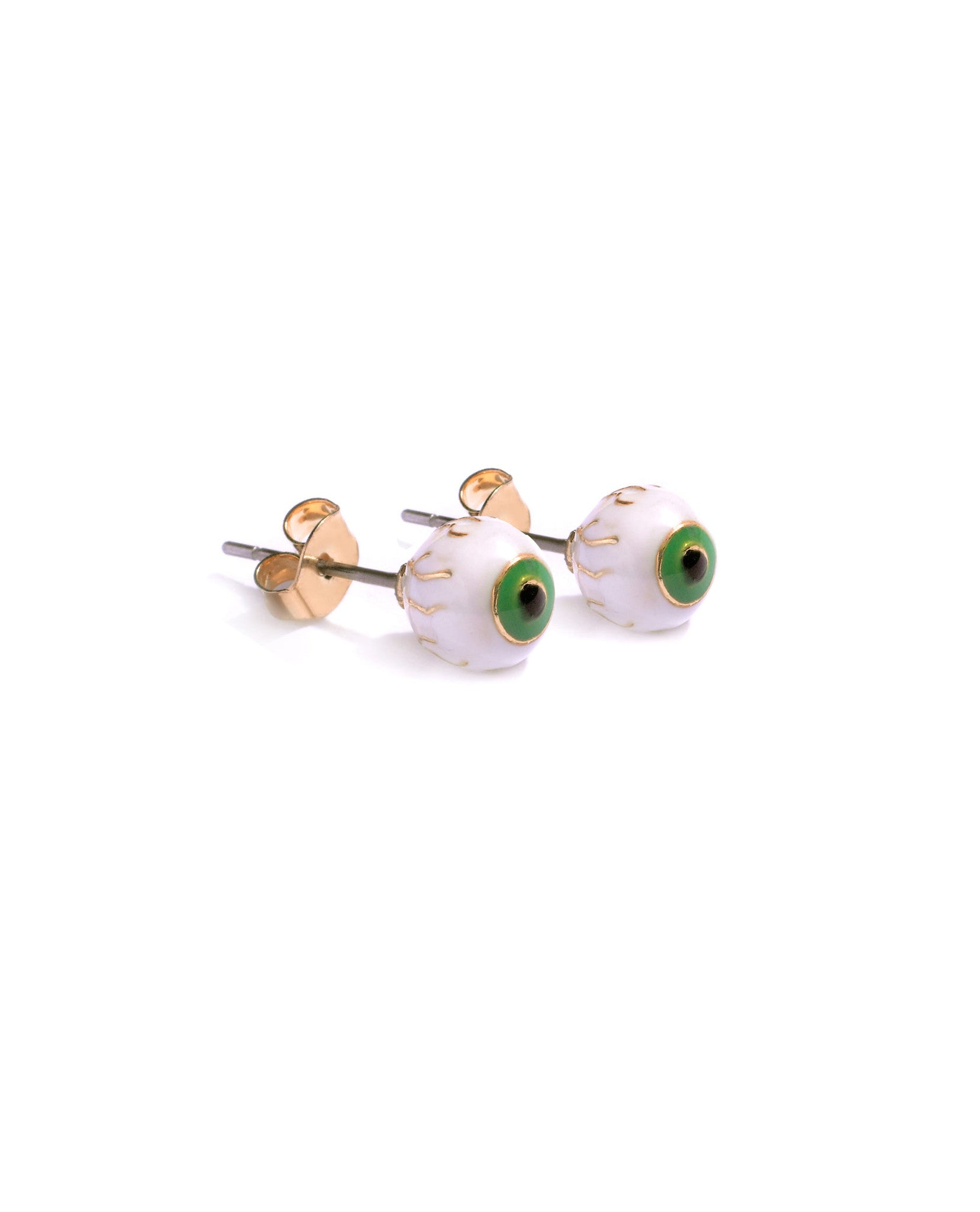 Eyeball Ear Studs