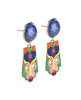 Karmageddon Lapis Lazuli Drop Earrings