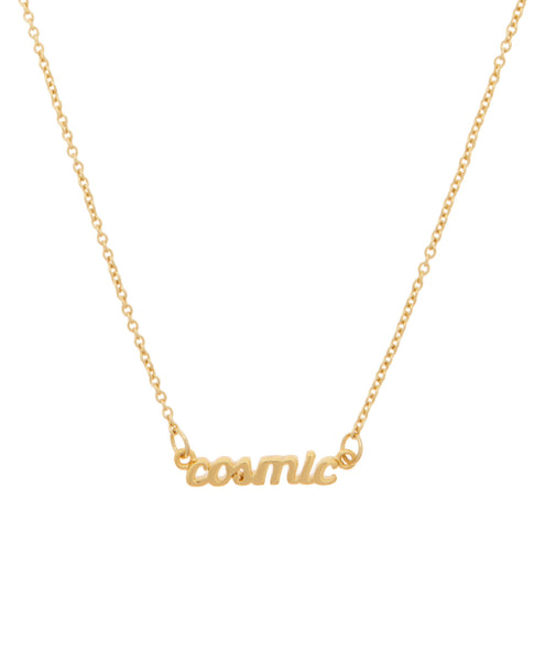 Cosmic Necklace Gold