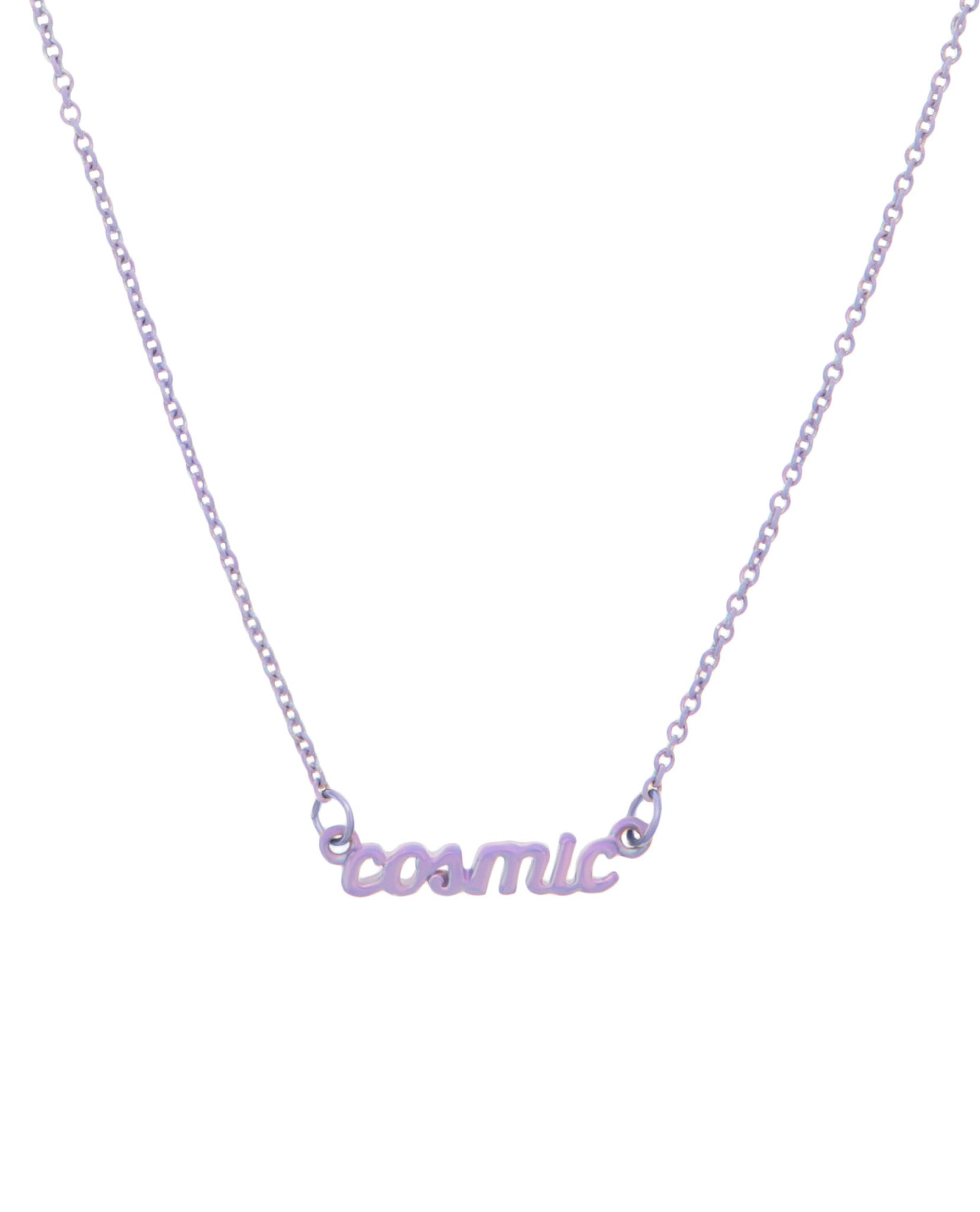 Cosmic Necklace Lilac