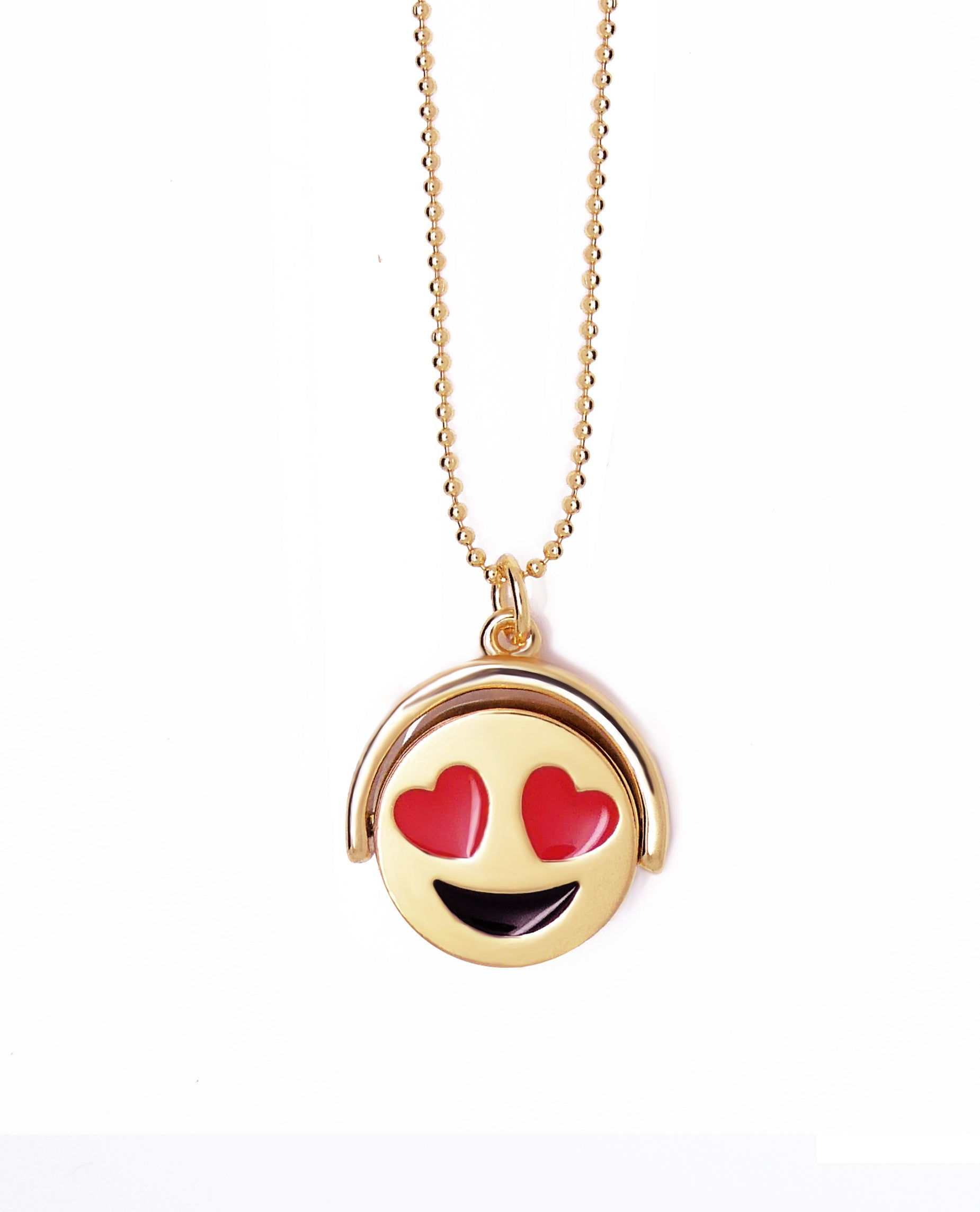 Emoji Reversible Necklace