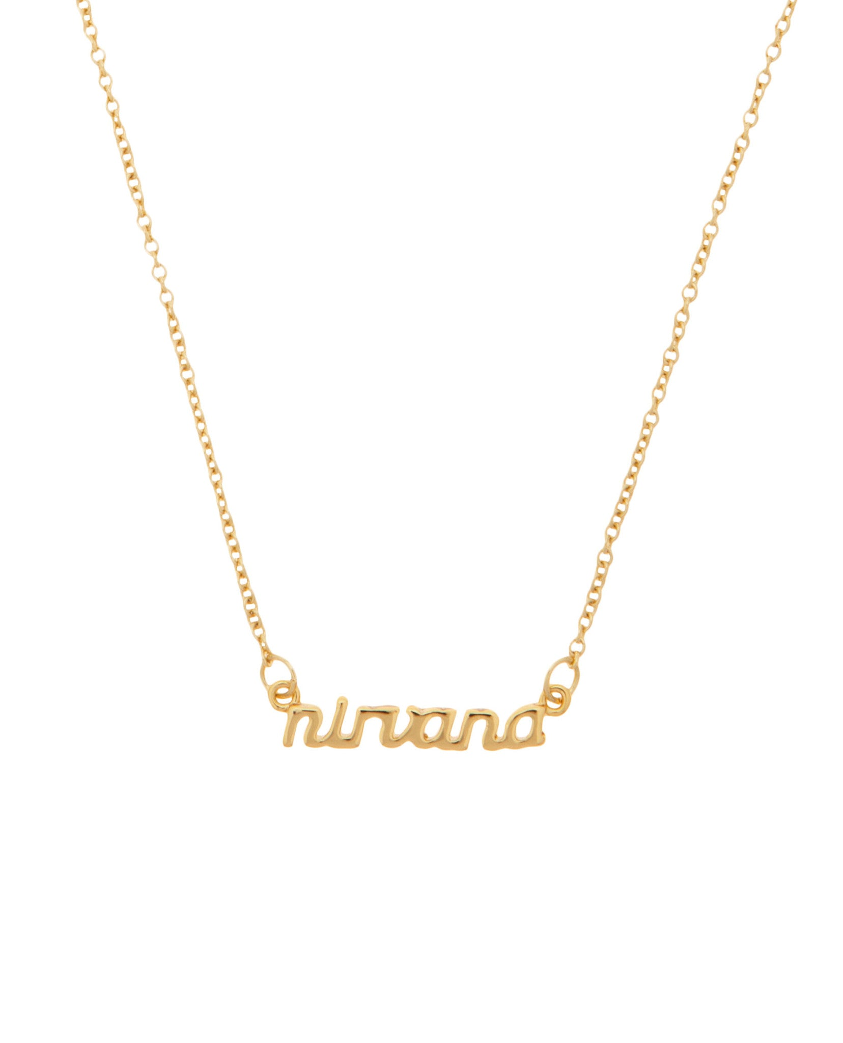 Nirvana Necklace Gold