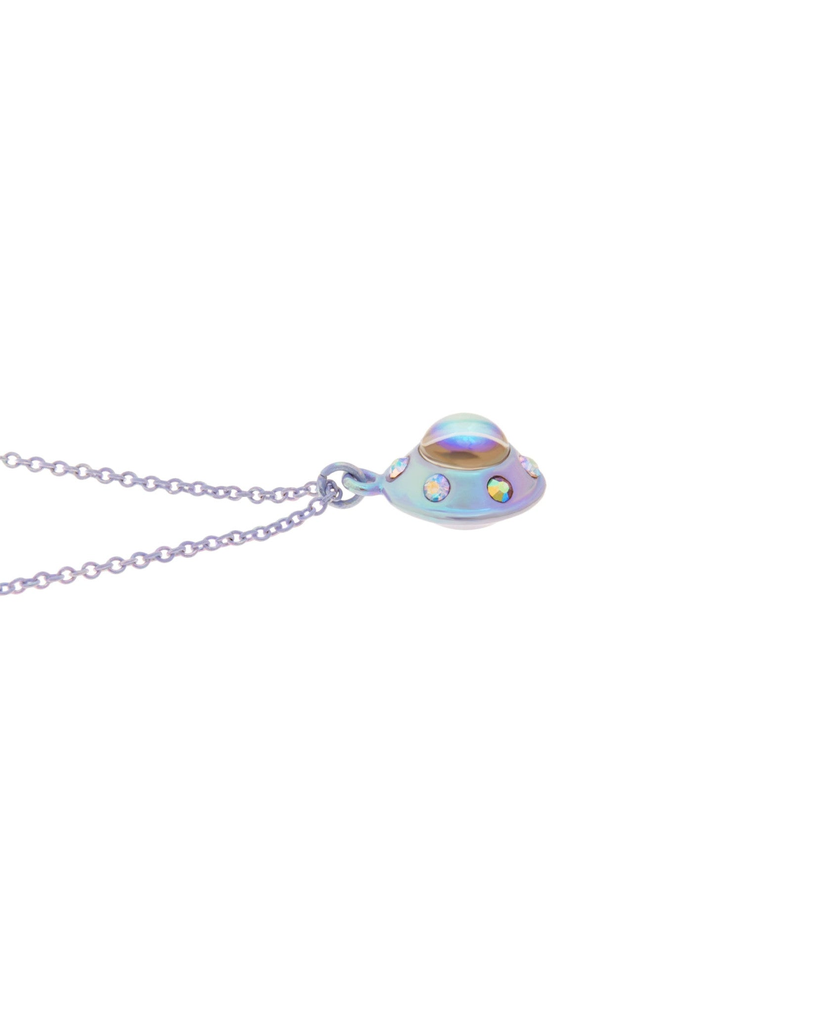 Mini UFO Necklace Lilac