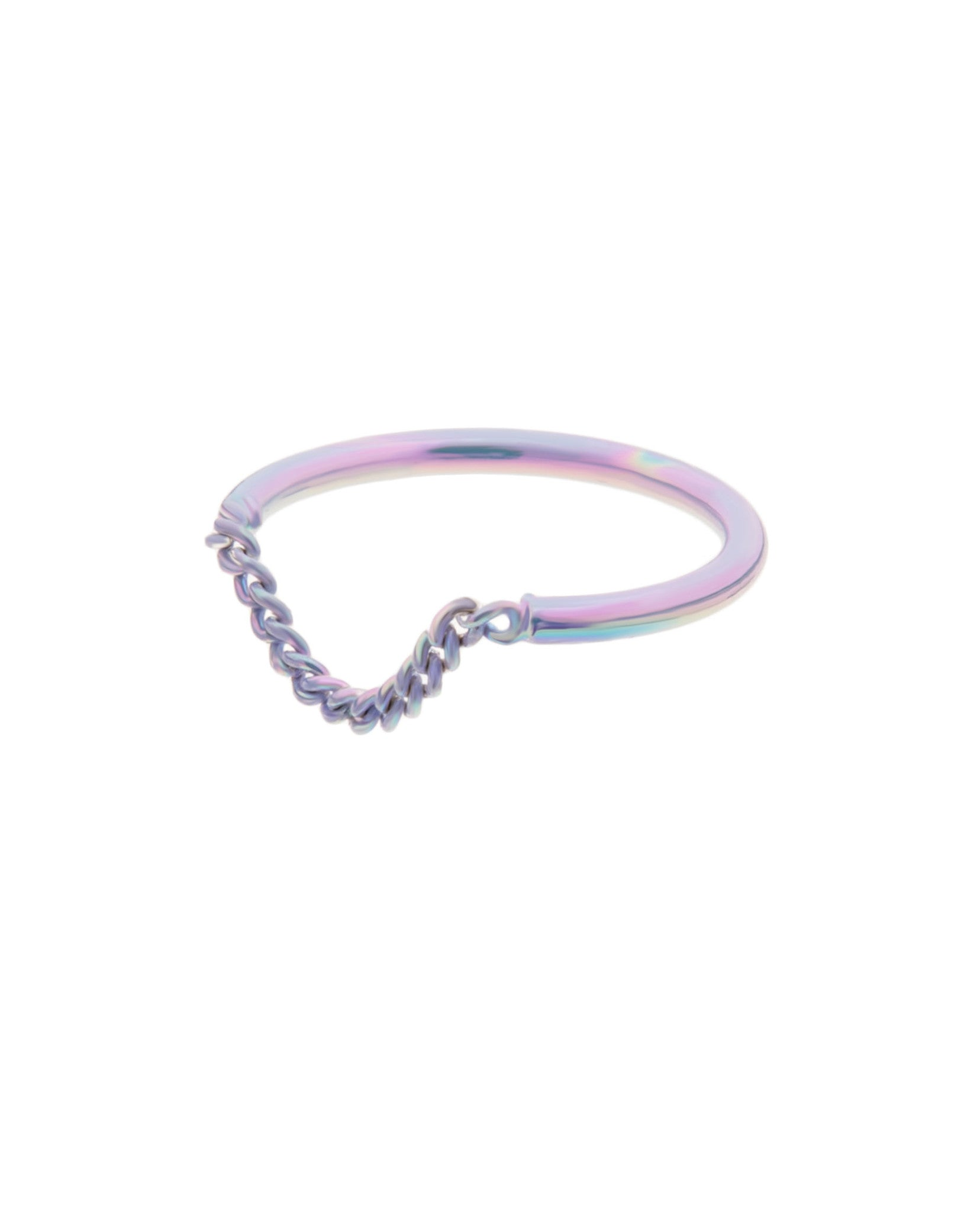 Chain Ring Lilac
