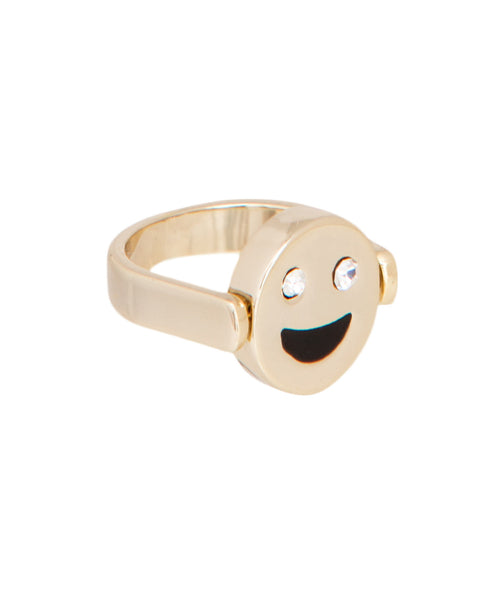 Emoji Happy/Sad Reversible Ring