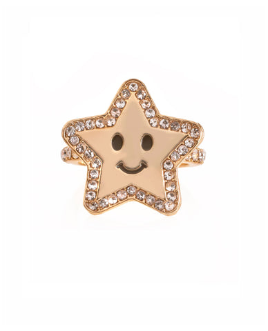 Happy Star Ring