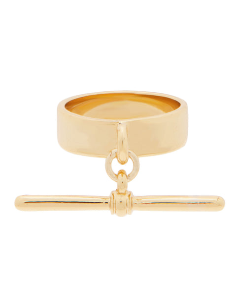 T-Bar Ring Gold