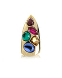 Jeweled Fingertip Ring