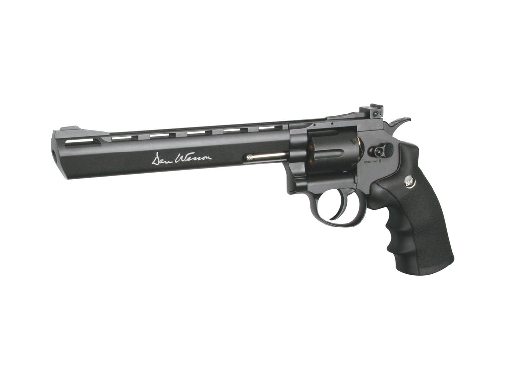 "ASG Dan Wesson 8"" CO2 revolver, gray"