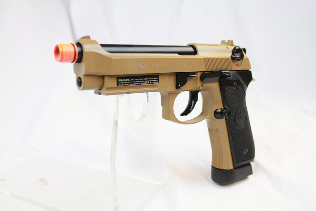 Taurus PT92 Rail Metal CO2 GBB TAN