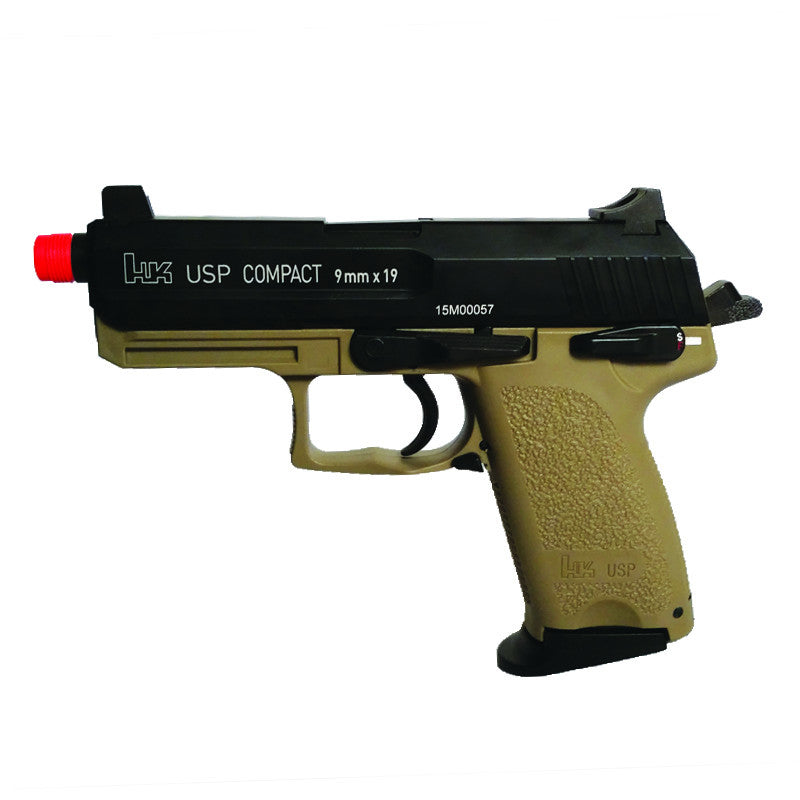 KWA H&K USP Compact Tactical TAN