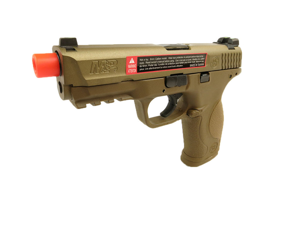S&W M&P 9 Select Fire GBB Tan