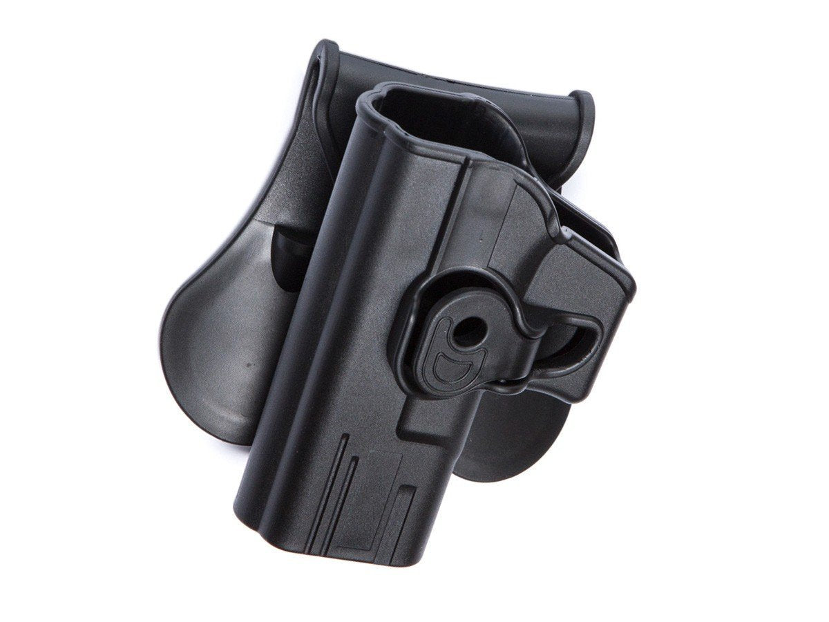 Tan LH And RH Airsoft ASG Strike Systems Holster for Glock 17 19 Black
