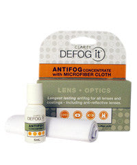 DeFog It 5mL Anti Fog with Cloth Kit