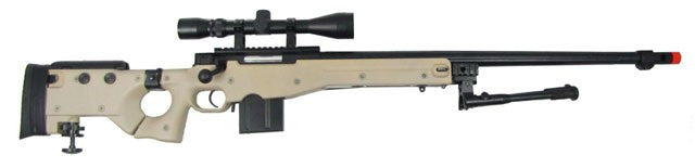 WELL MB4403 L96 Rifle w/ Scope+Bipod TAN