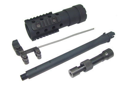 CA Aluminum Quad Handguard Set, Carbine version