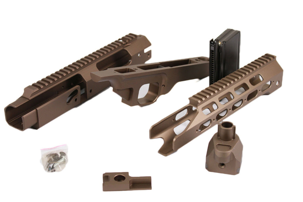 AA KJW/TAN m700 AAC21 CNC BODY KIT FDE