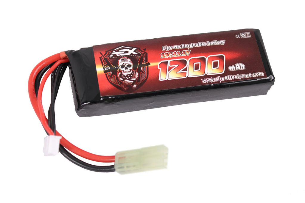 AEX 11.1v 1200mAh 20C LiPo Battery