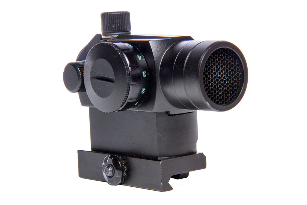 AEX Compact Combat Optic w/ High Mount - Black