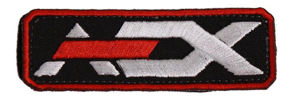 AEX Logo Patch Red/Black