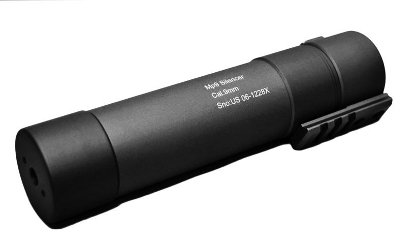 AngryGun MP9 Power Up Silencer Bk