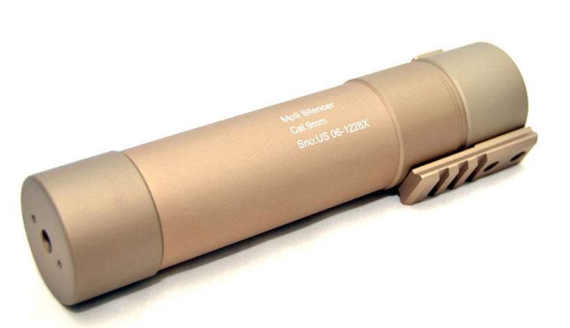 AngryGun MP9 Power Up Silencer FDE