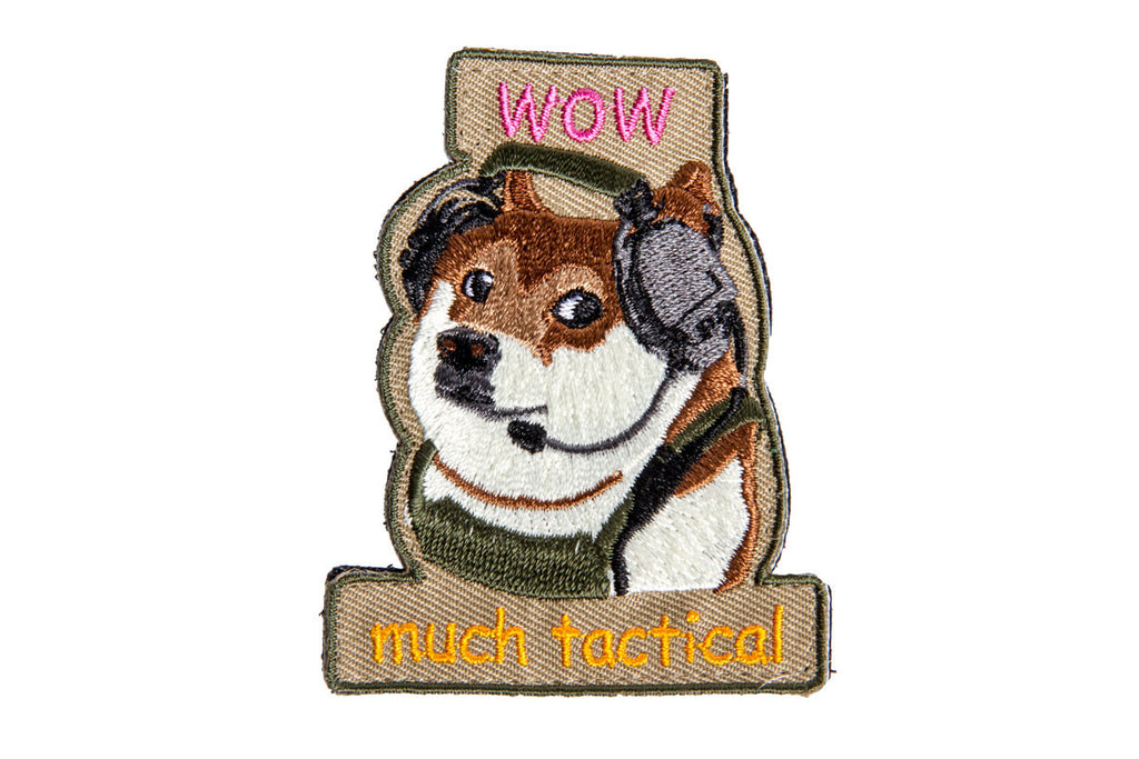 AMPED Patch - Tactical Doge