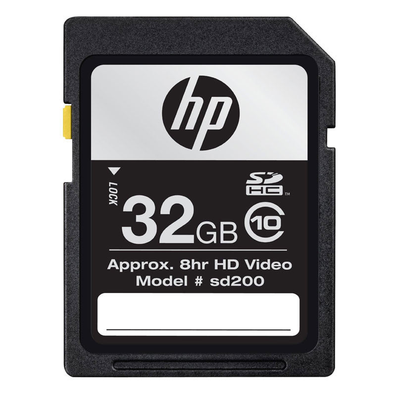 HP 32GB SD Card Class 10