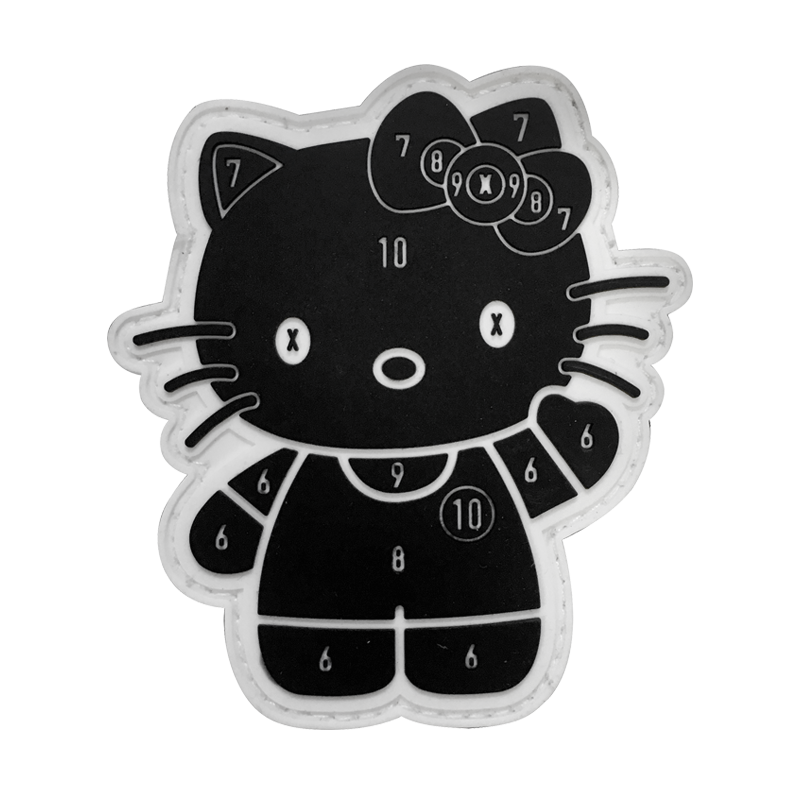 Zoo Tactical Bye Bye Kitty PVC Patch