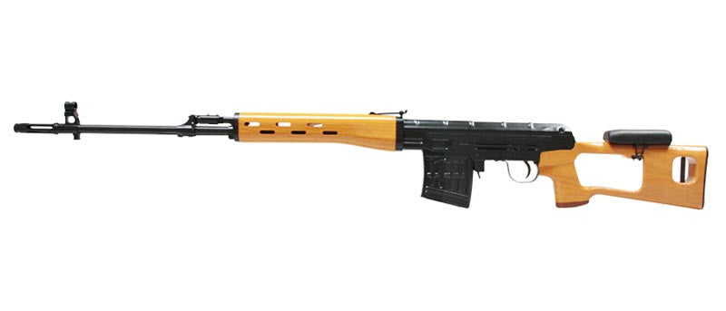 DRAGUNOV SVD with Plastic Wood Pattern Furniture