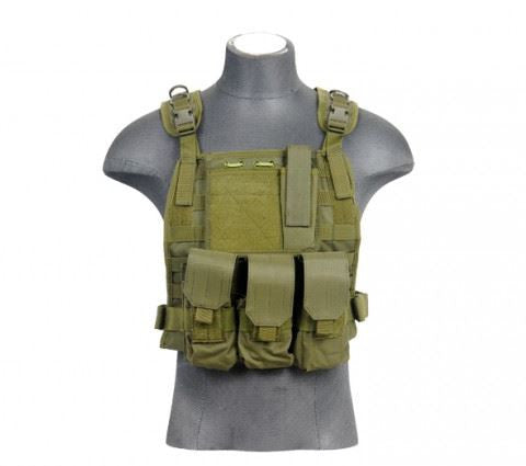 Lancer Tactical Molle Plate Carrier OD