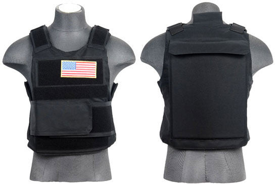 Lancer Tactical Body Armor Vest BLK
