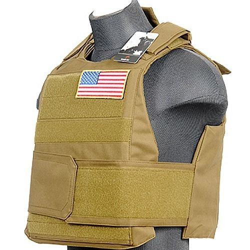 Lancer Tactical Body Armor Vest TAN