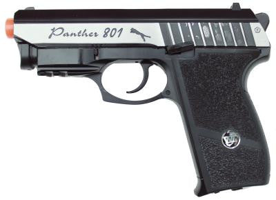 Win Gun Panther CO2 Blowback Pistol w/Laser