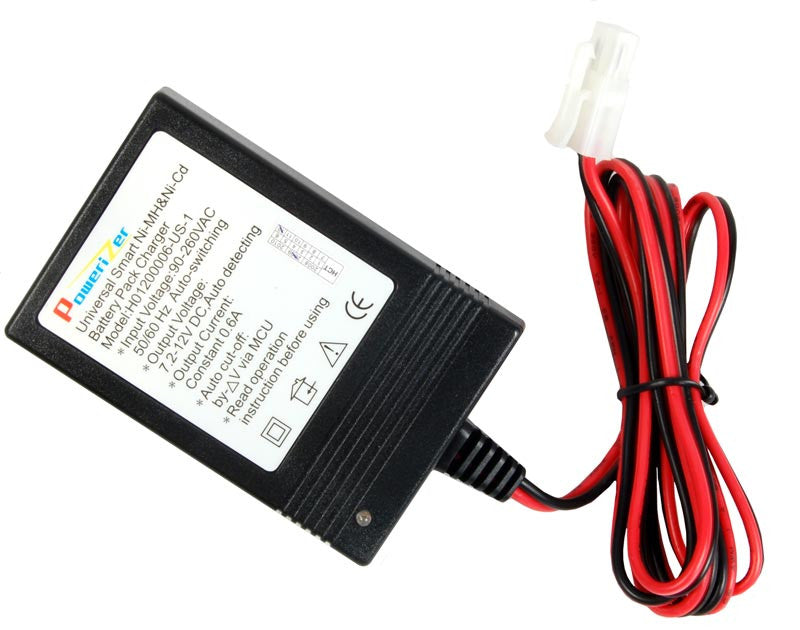 Compact 12V Smart Charger, Auto Shutoff