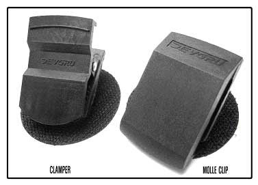 Devgru Clamper and Molle Clip Set