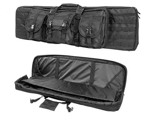 NcStar 36¬? Double Rifle Case Black