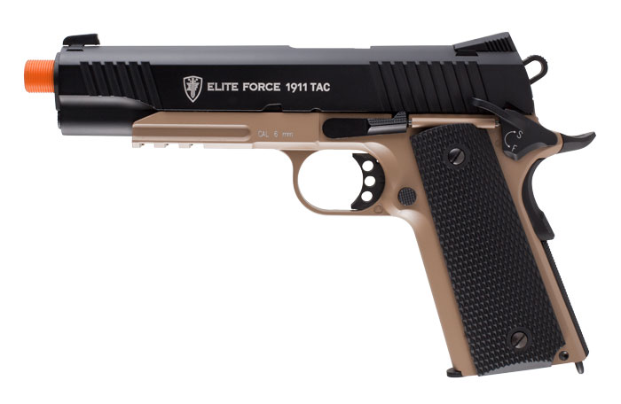 Elite Force 1911 Tactical TAN