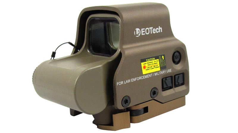 EO Tech  EXPS3-0 w/Side Button QD Lever TAN