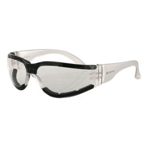 Shield III Sunglasses, Anti-fog Clear Lens, ANSI Z87