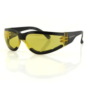 Shield III Sunglasses, Anti-fog Yellow Lens, ANSI Z87