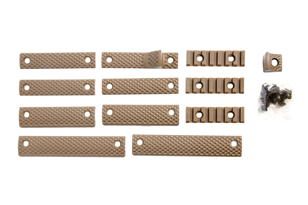Apex R5 handguard accessory kit, FDE