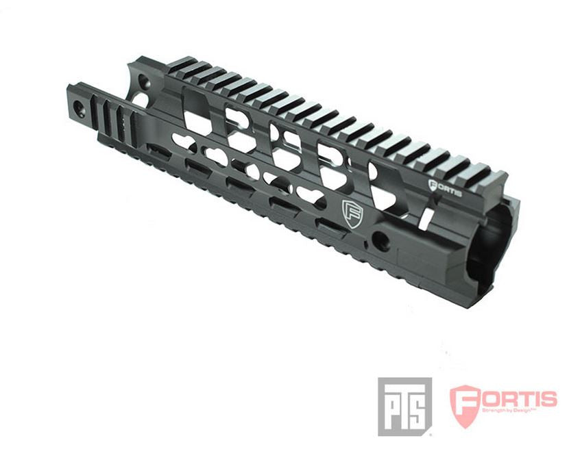 "PTS Fortis REV¬?? Free Float Rail System 9"" Carbine Cutout"