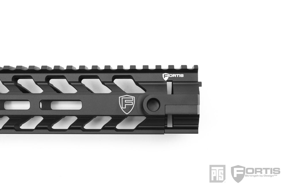 "PTS FORTIS REV™ II Free Float Rail Sytem - 12"" MLOK"